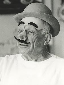 Fotografia de Pablo Picasso realizada en La Californie en 1957. (David Douglas Duncan)