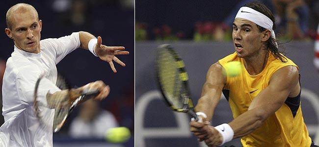 Davydenko y Nadal