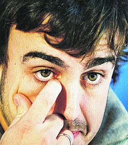 Alonso apuesta