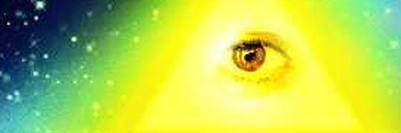 Dios, tradicionalmente caracterizado como un triángulo con un ojo