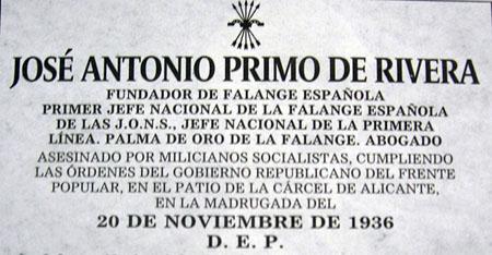 Primo de Rivera, en ABC