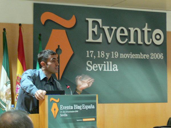 Juan Varela en Evento Blog