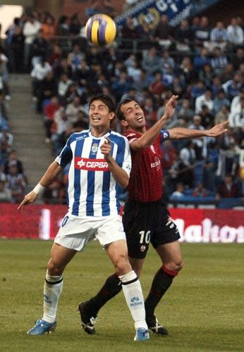 Recreativo de Huelva contra Osasuna