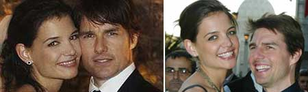 Tom Cruise y Katie
