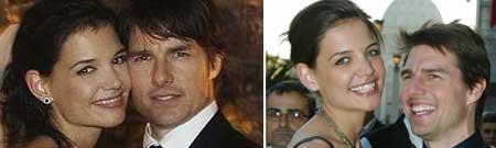 Tom Cruise y Katie