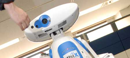 El robot recibe el nombre de Turiko