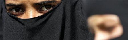 Mujer niqab