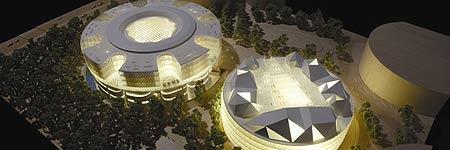 Vista de la futura Ciudad de la Justicia