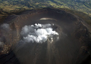 El volcán galeras, a punto de entrar en erupción