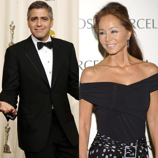 George Clooney e Isabe...
