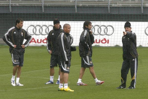 Madrid entrenamiento