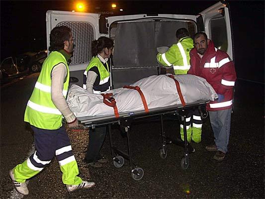 Accidente en Corral de Almaguer (Toledo)