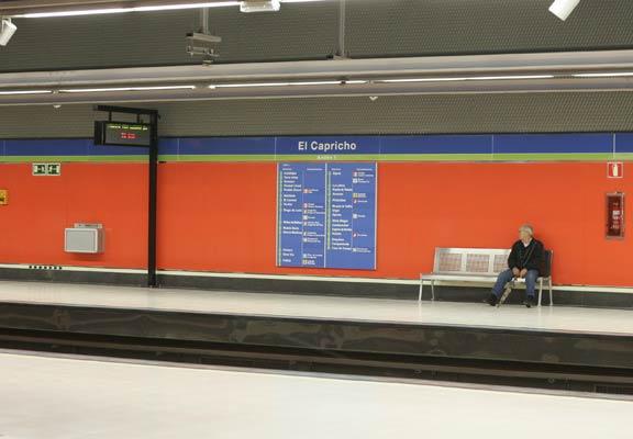 Cuatro nuevas estaciones de Metro acumulan meses de retraso