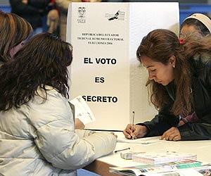 Elecciones ecuatorianas