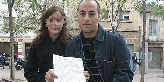 Palestino robado en el Prat