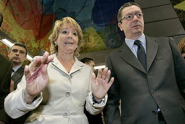 Aguirre y Gallardón