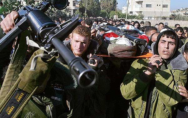 Palestino asesinado