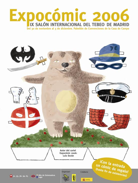 Cartel de 'Expocómic 2006'