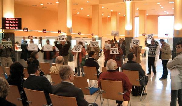 Nueva protesta de los antiparquímetros