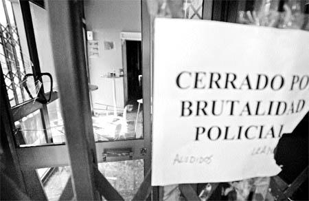 Balance del 'botellón': 4 denuncias contra la policía