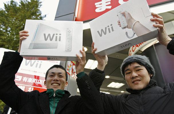 Lanzamiento de la Wii en Japón