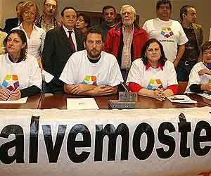 Imagen de los representantes de los trabajadores