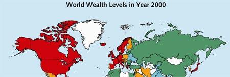 Distribución Mundial de la Riqueza