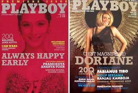 Playboy en Indonesia