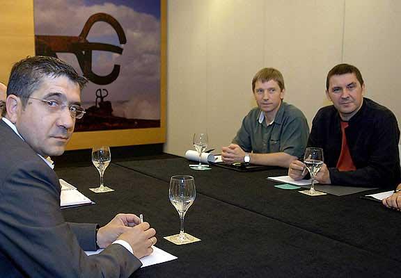 Reunión PSE-EE Batasuna.