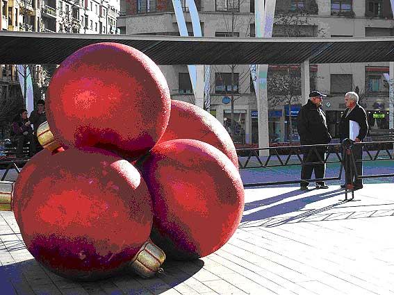 Bolas gigantes - Bolas gigantes de navidad ...