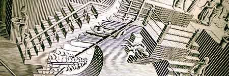 Una de las obras más emblemáticas de Escher