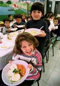 Los niños inteligentes tienden a ser vegetarianos de mayores, según un estudio  (Imagen: Vincenzo Pinto / Reuters)