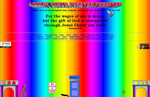 Accept Jesus, Forever Forgiven