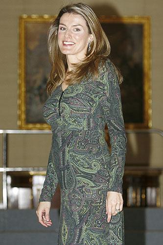 Letizia embarazada
