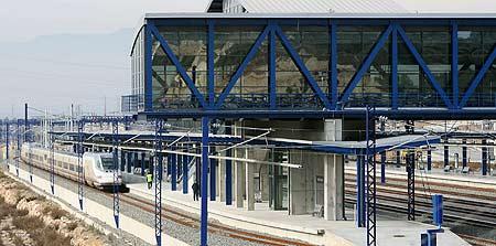 Estación del AVE en Tarragona