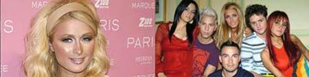 Paris Hilton y los protagonistas de 'Rebelde'