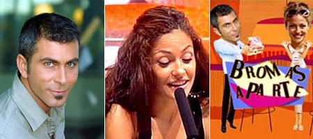 Luis Miguel Torrecillas y Patricia P�rez, presentadores de 'Bromas a parte'. (Archivo)