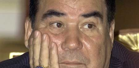 El presidente de Turkmenistán