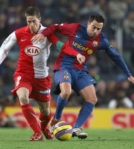 Xavi y Torres