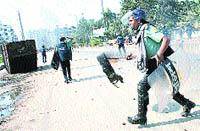 Huelga en Bangladesh