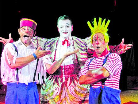 La magia de volver a ser un niño en el circo
