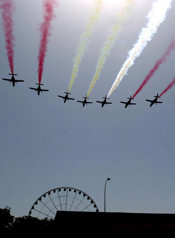 Aviones de las Fuerzas Armadas