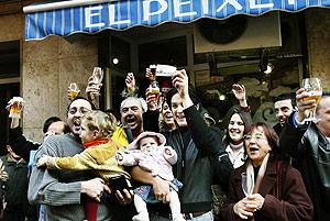 Lotería premiada en El Prat