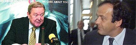 Johansson y Platini