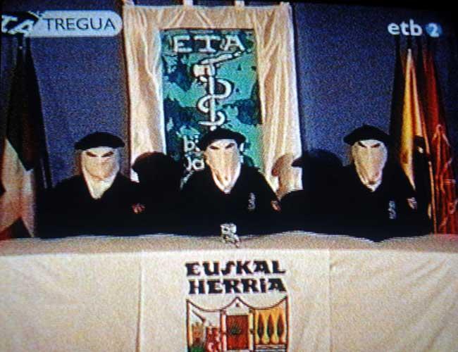 El 22 de marzo ETA anunció un el fuego