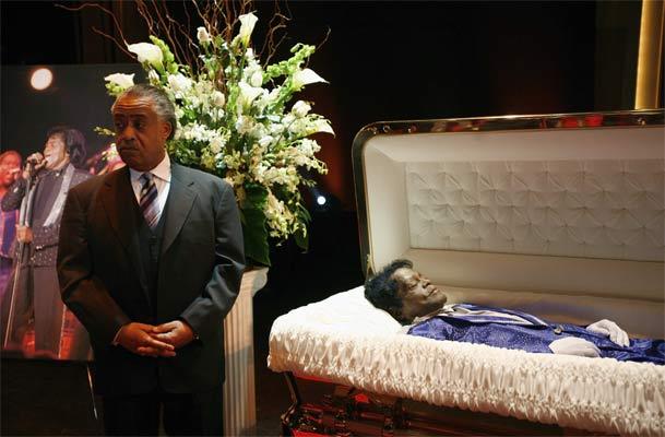 Último adiós a James Brown