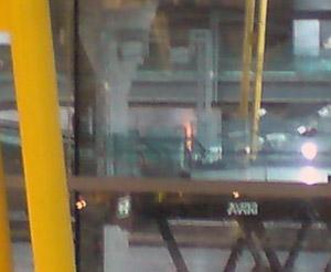 Incendio en Barajas