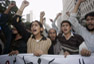 Gritos antiamericanos en Karachi