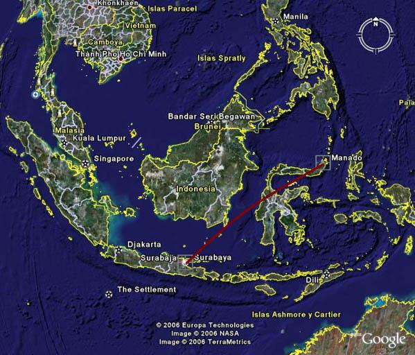 Indonesia, de nuevo ante una posible catástrofe de aviación