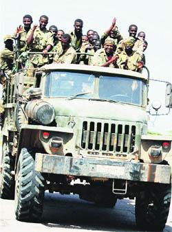 Derrota islamista en Somalia